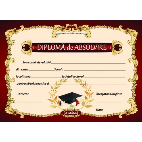 Diploma Absolvire 1