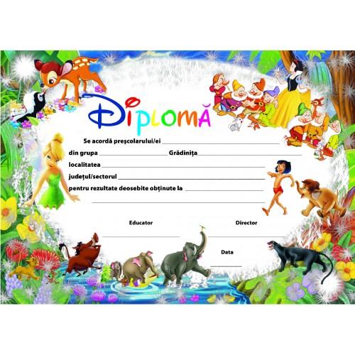 Diploma de Gradinita