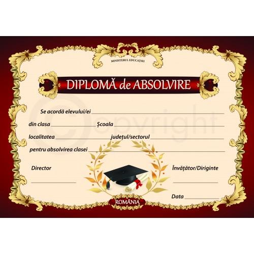 Diploma de Absolvire