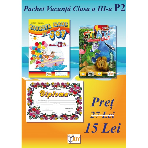 Pachet vacanta clasa a III-a P2