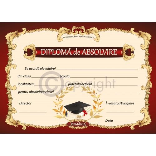 Diploma Absolvire 1 2019