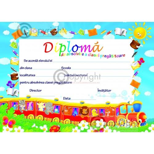 Diploma Absolvire Clasa Pregatitoare 1 2018