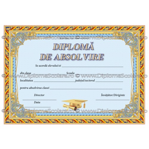 Diploma Absolvire 4 2019