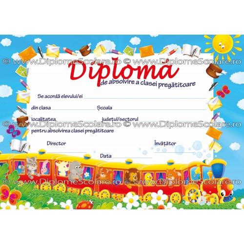 Diploma Absolvire Clasa Pregatitoare 1 2017